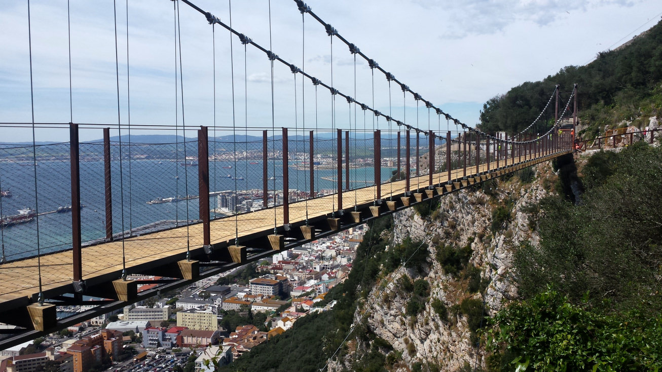 Gibraltar Suspension Bridge